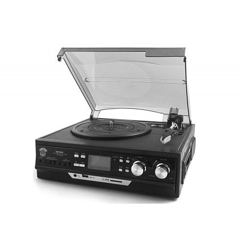 Music box 4 az 1-ben - Lemezjátszó MP3/USB konverterrel